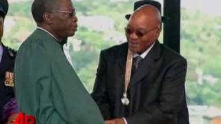 Raw Video: New President for South Africa