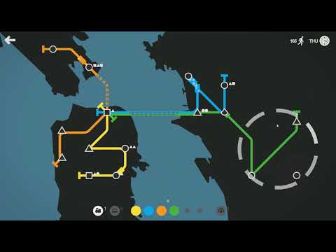 DGA Plays: Mini Metro (Ep. 25 - Gameplay / Let's Play)