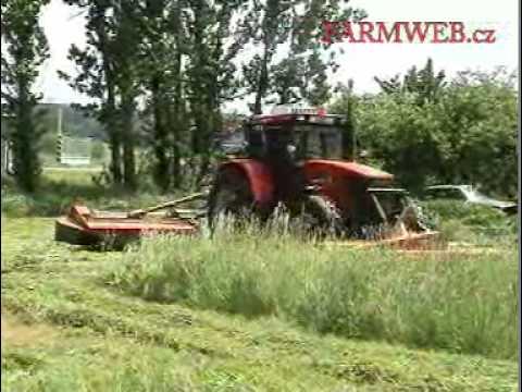 ZTS 160 seče travu