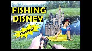 Fishing Disney Ponds and Mosquito Lagoon