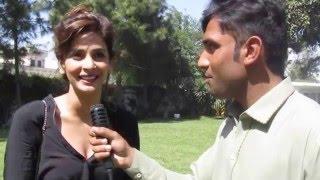 Pakistani actress saba qamar and Arif khan in swat