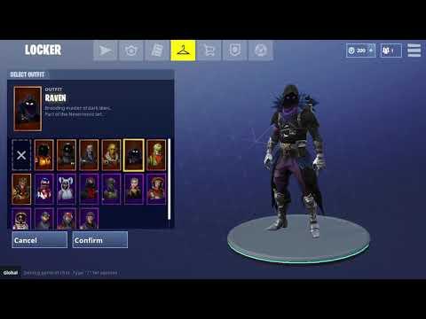 New Fortnite skins! Raven, Dark vanguard, space shuttle glider