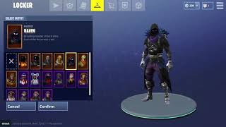 New Fortnite skins! Raven, Dark vanguard, space shuttle glider