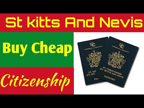 Buy Cheap Cityzenship St kitts and Nevis