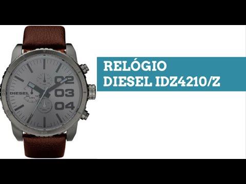 5de1697e2e9 Relogio Diesel Masculino IDZ4210Z - YouTube