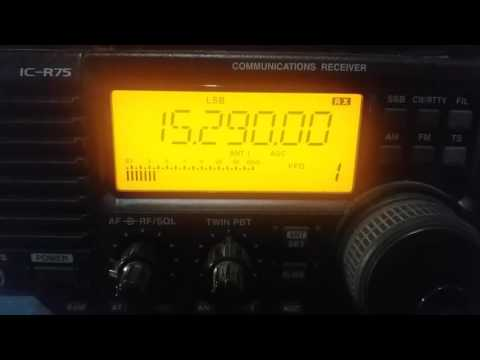 Radio Cairo, Abu Zaabal EGYPT - 15290 kHz
