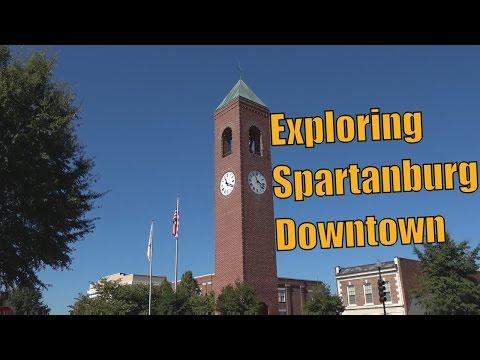 Exploring Spartanburg downtown
