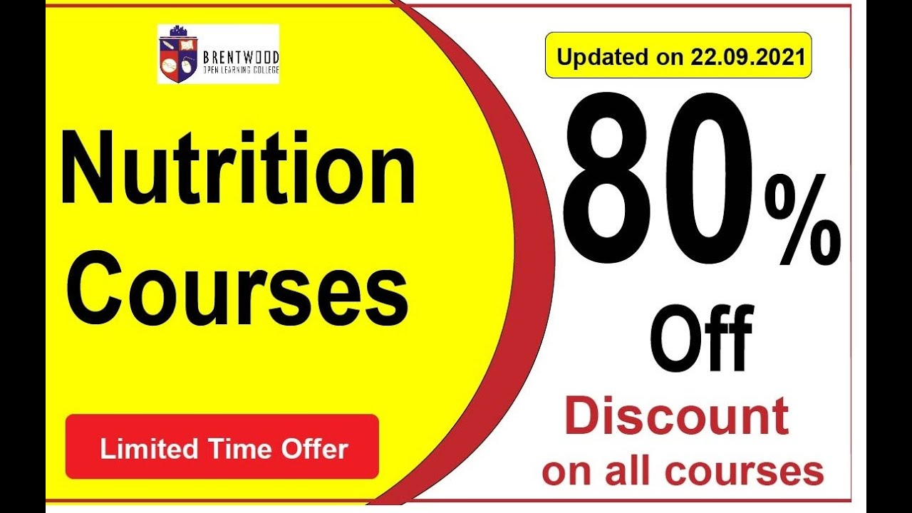 Nutrition Courses Online Nutrition Courses Online Nutrition