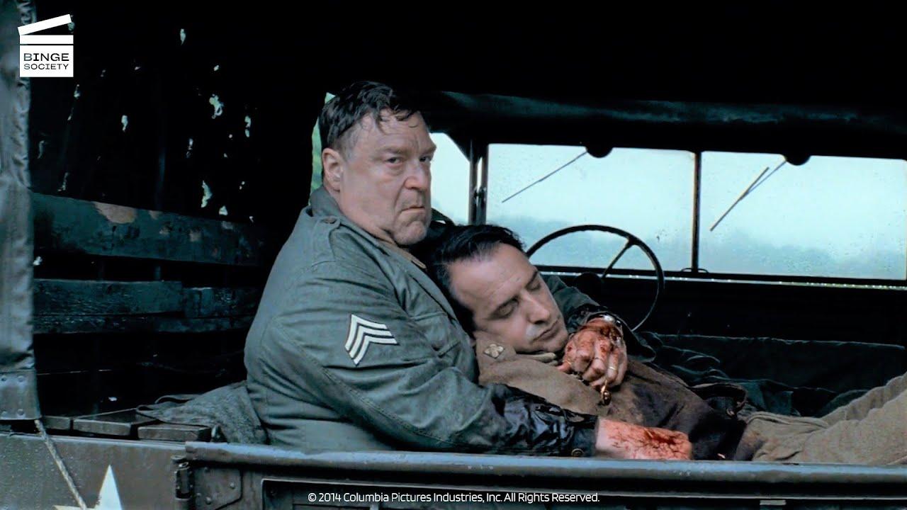 Download The Monuments Men: Jean-Claude gets shot (HD CLIP)