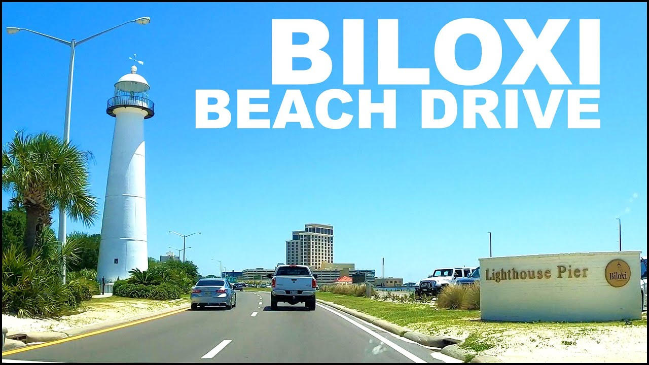 Biloxi Mississippi Hwy 90 Beach Drive April 2020 Youtube