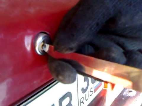 как открыть киа маджентис без ключа