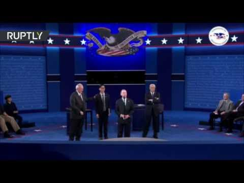 Hillary Clinton / Donald Trump 2nd Presidential Debate (Streamed live 10.10.2016)