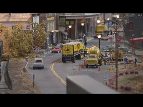 Sights and Sounds of the Colorado Model Railroad Museum in 4K