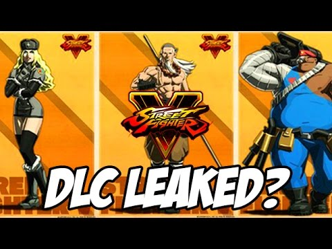 Street Fighter 5 New Dlc Characters Leaked Street Fighter V