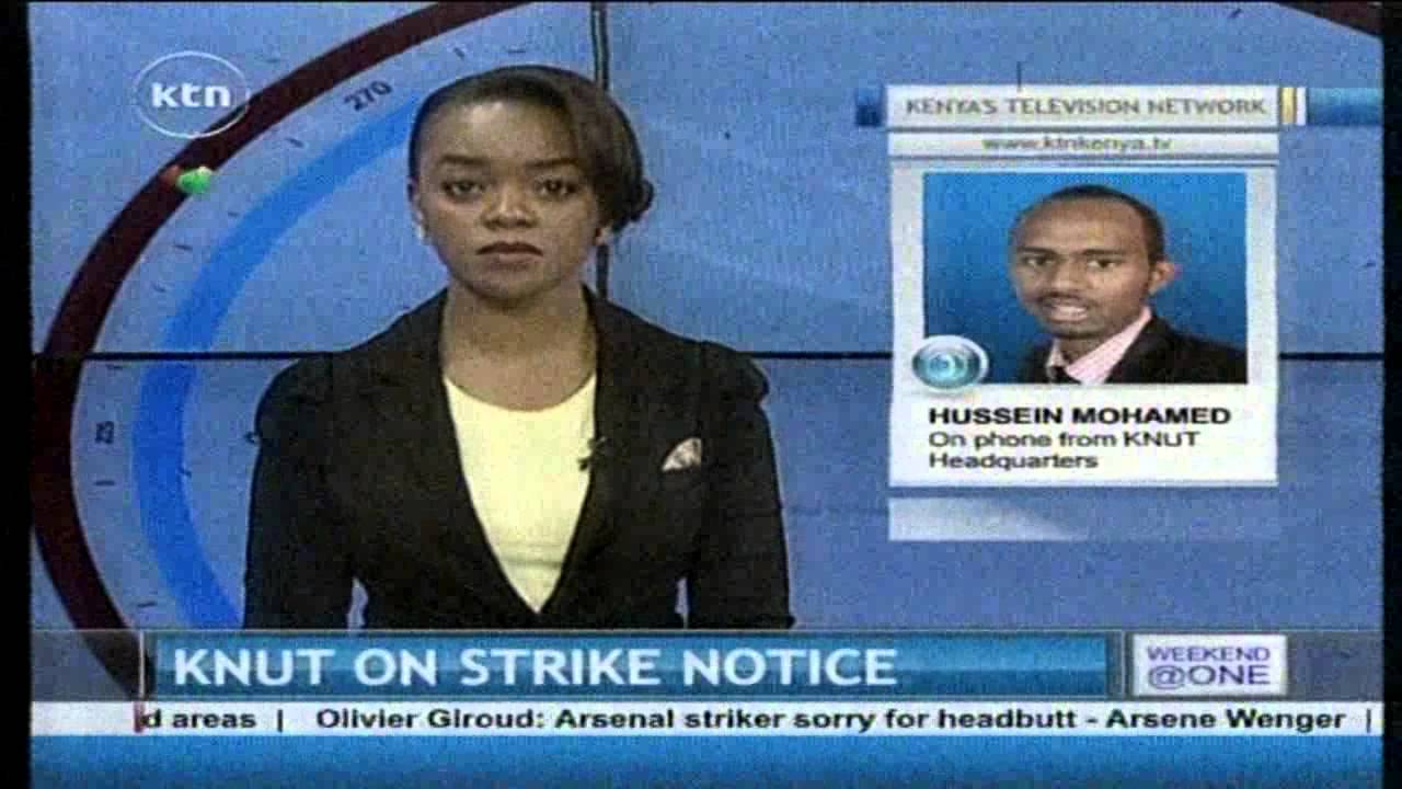KNUT set to issue strike notice - YouTube