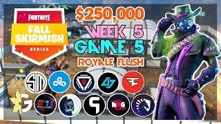 $250,000 🥊Royale Flush Fall Skirmish🥊 Week 5/Game 5 (Fortnite)