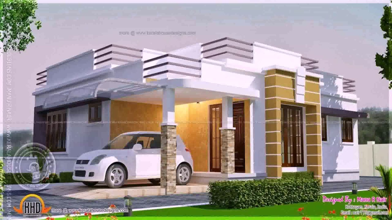 Indian House Boundary Wall Design Youtube