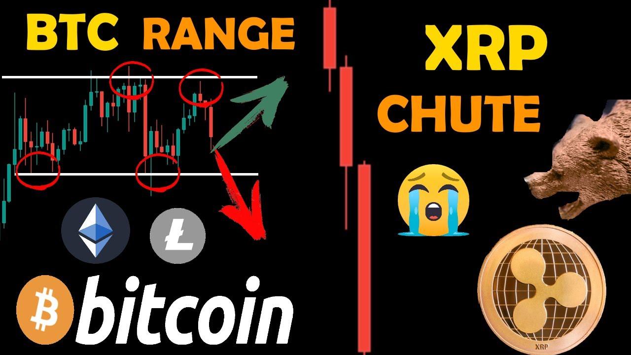 XRP 🚨 TERRIBLE CHUTE 📉😭 BITCOIN RANGE TOUJOURS 😐 + ETHEREUM ET LITECOIN crypto monnaie analyse fr