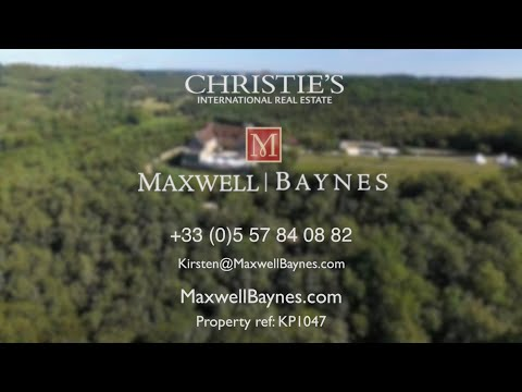 Chateau property with small vineyard for sale in Lot, France. EXCLUSIVE! Maxwell-Baynes ref: KP1002