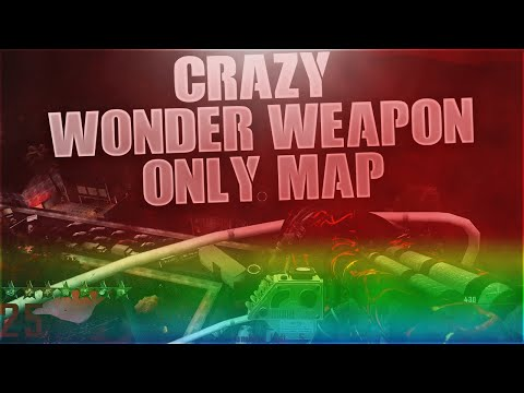 "Crazy Wonder Weapons Only Zombies Map! - Custom ""Cryogenic"" Zombies Map!"