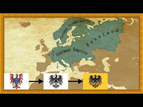 EUIV - Timelapse of the German Empire