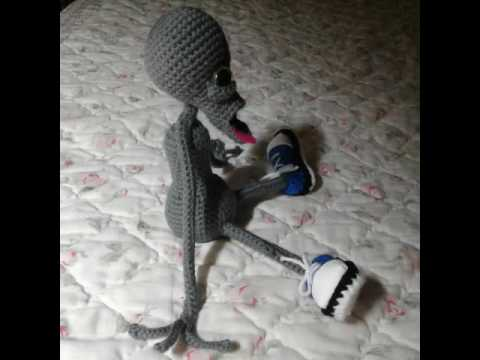 Beetlejuice Amigurumi Crochet Art Doll - YouTube | 360x480