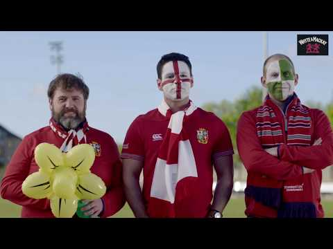 Smoothing Things Over between Lions Fans | Whyte & Mackay Whisky