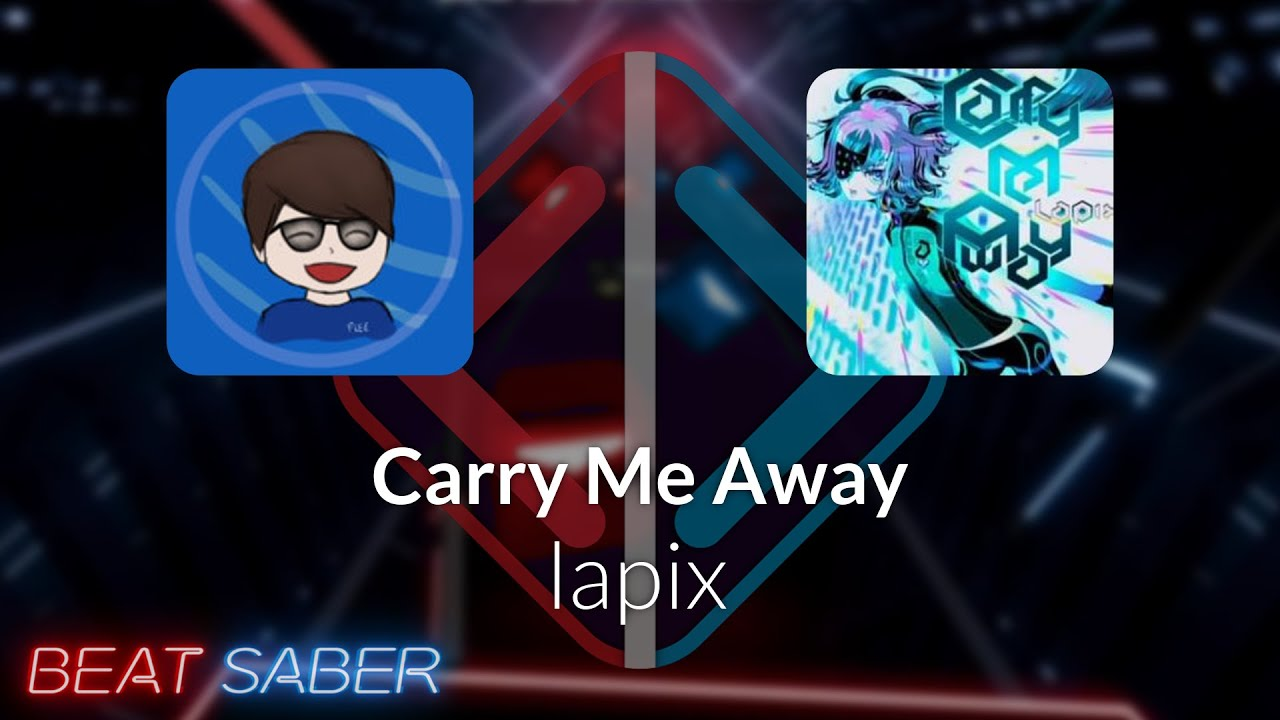 Beat Saber | Flee | lapix - Carry Me Away [Expert+] FC #1 | 94.87%