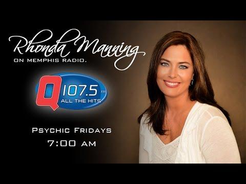 Psychic Friday - April 17th, 2015 - Q107.5 Memphis - Rhonda Manning