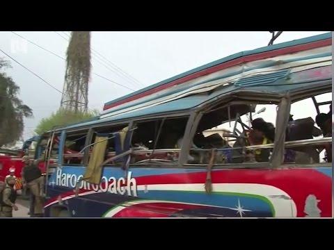 Bus blast kills 15 government employees in northwest Pakistan