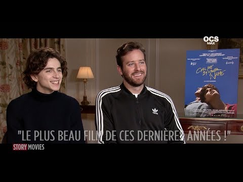 Interview Timothée Chalamet & Armie Hammer -  Call Me By your Name