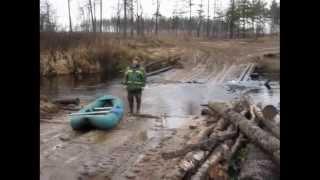Раскрывая горизонты. Сплав по реке Солотча.