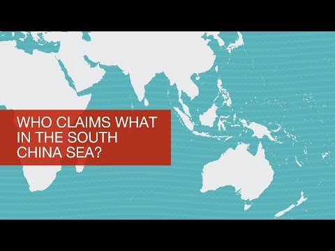 Who claims what in the South China Sea?