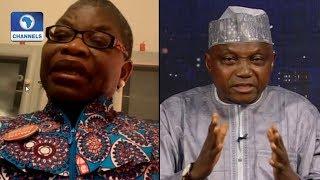 'Very Worrying', Ezekwesili, Garba Shehu Disagree Over Buhari's Performance