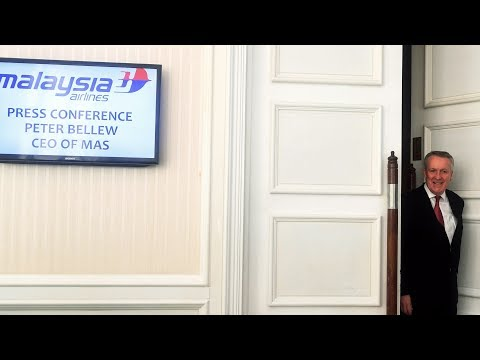 MAS CEO Peter Bellew's press conference on his resignation