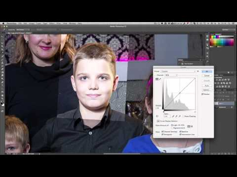 Как вставить глаза нос или уши с одной фотографии в другую - Уроки Фотошопа