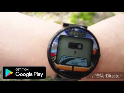 Watch Game Racer For Smart Watch (Android)