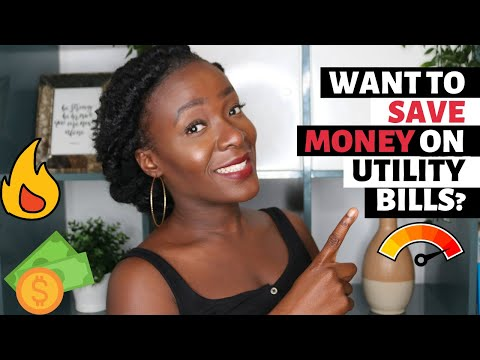 HOW TO SAVE MONEY ON UTILITY BILLS | WATER GAS AND ELECTRICITY | 15 WAYS