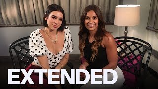 Dua Lipa Talks Canadian Fans, 'One Kiss' Success | EXTENDED