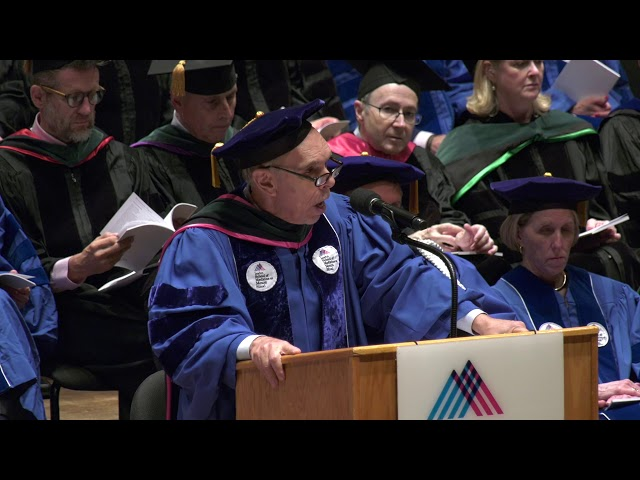 Dr. Kenneth L. Davis, President and CEO, Addresses 2019 Graduates