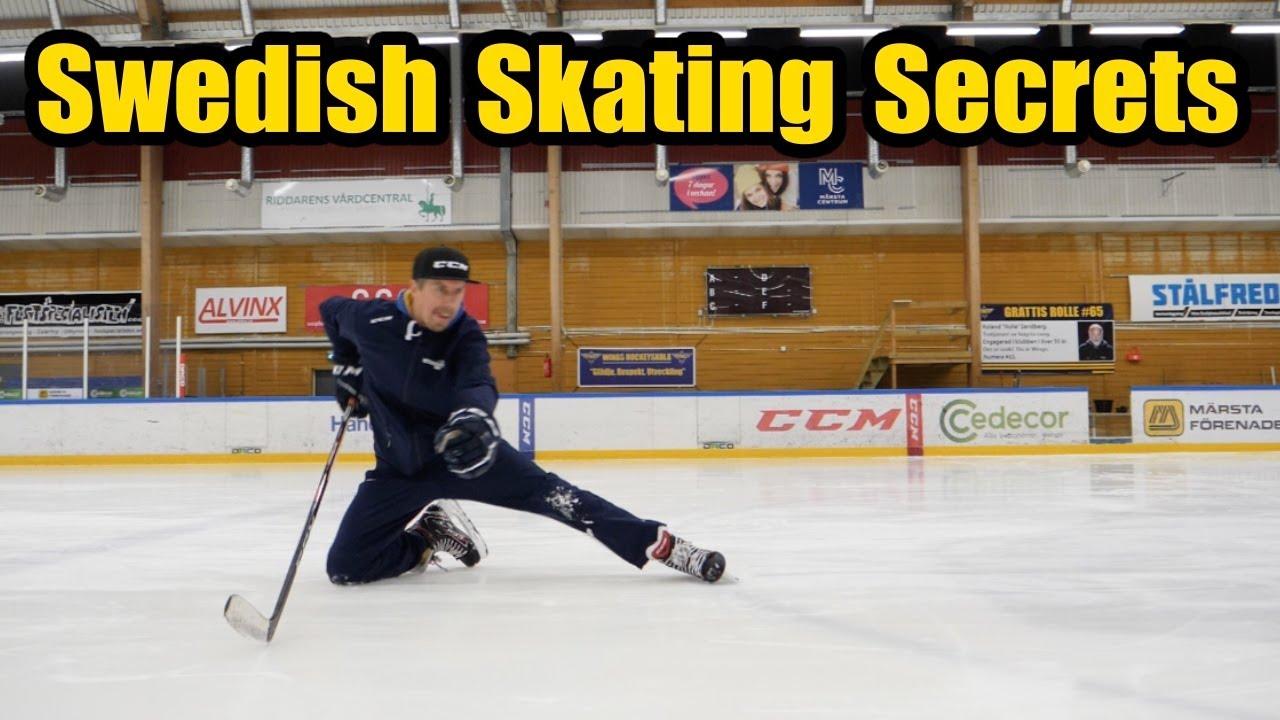 Swedish Skating Secrets With Starzone Sports Hockey Skating Fundamentals