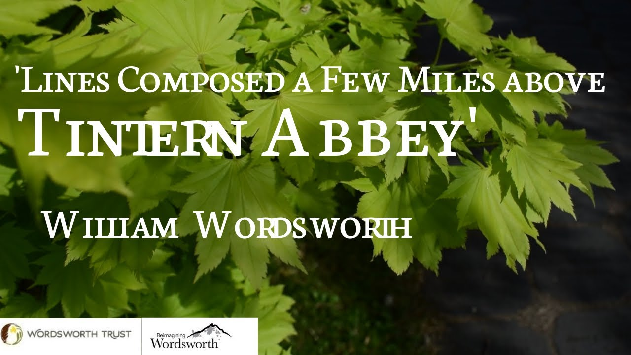Line Composed A Few Mile Above Tintern Abbey By William Wordsworth Youtube Written Summary