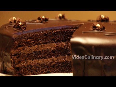Easy Chocolate Cake Recipe - Video Culinary