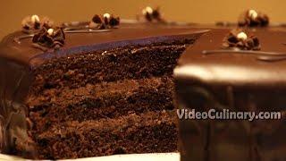 Easy Chocolate Cake Recipe - Video Culinary