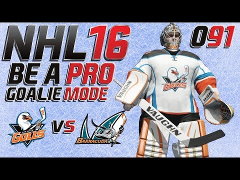 NHL 16 Torhütermodus [Be A Pro][60fps][Deutsch] #091 - San Diego Gulls - San Jose Barracudas