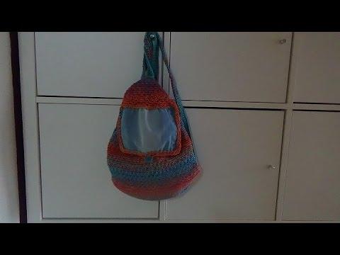 Rucksack Häkeln Anfängergeeignet Youtube