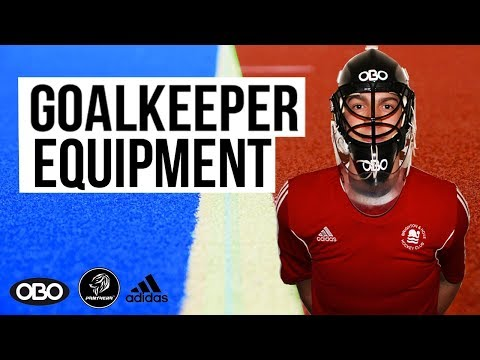 HOCKEY GOALKEEPER KIT VIDEO
