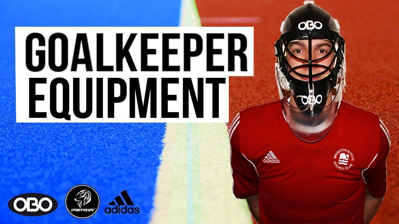 Hockey Goalkeeper Kit Video Youtube
