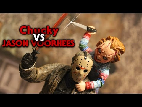 Jason Voorhees Vs Chucky Stop Motion
