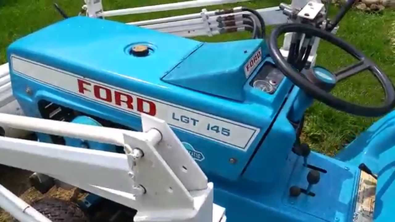 Ford 145 Lgt With Front End Loader Youtube